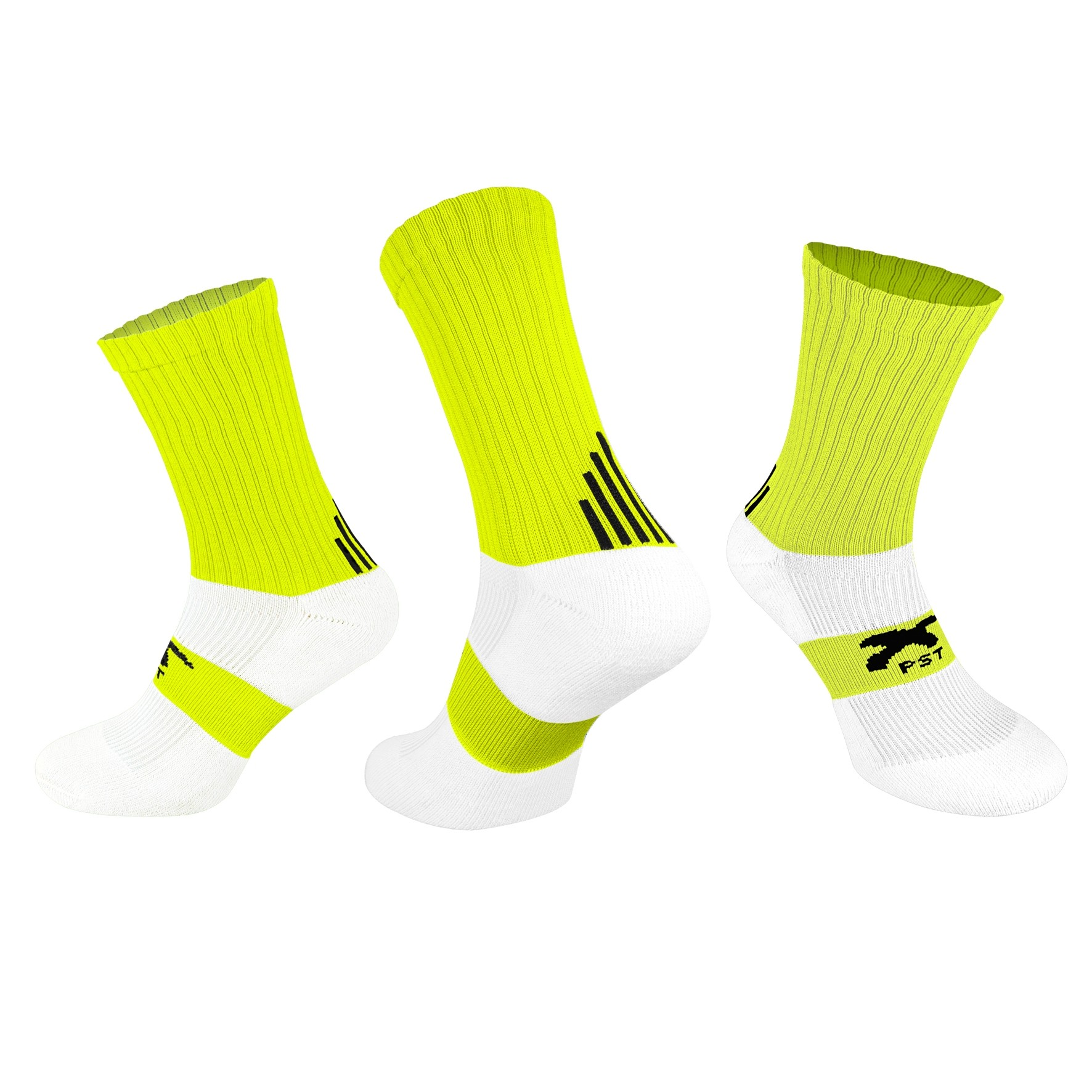 PST Crew Socks - Neon Yellow