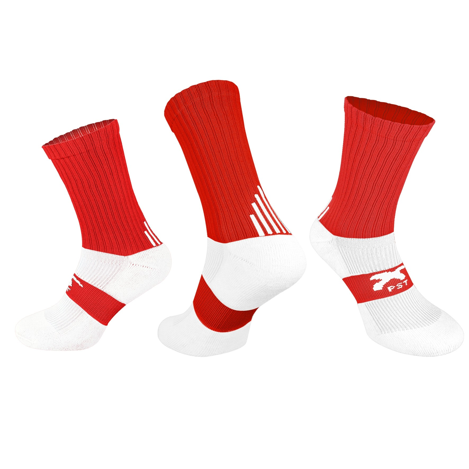 PST Crew Socks - Red