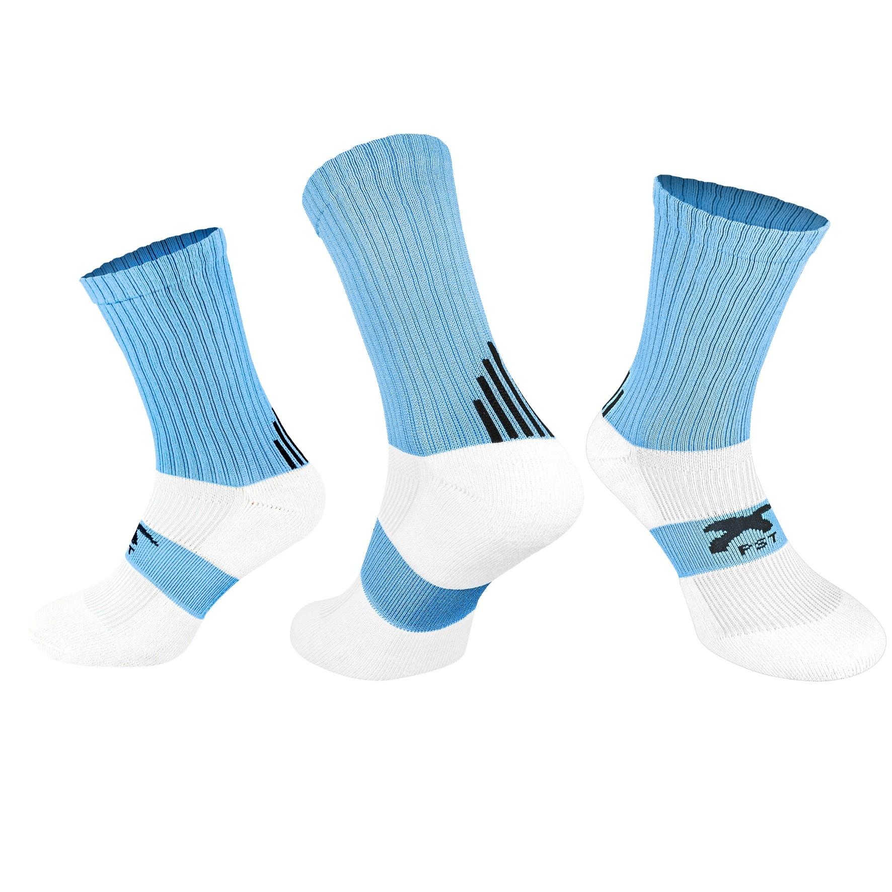 PST Crew Socks - Sky