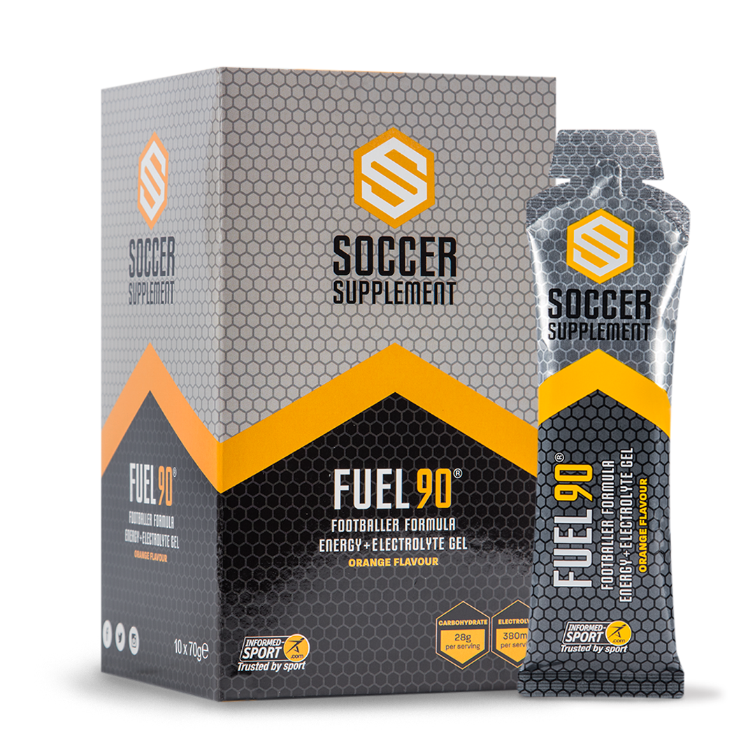Soccer Supplement  - Fuel 90 Gel  (10 Pack)