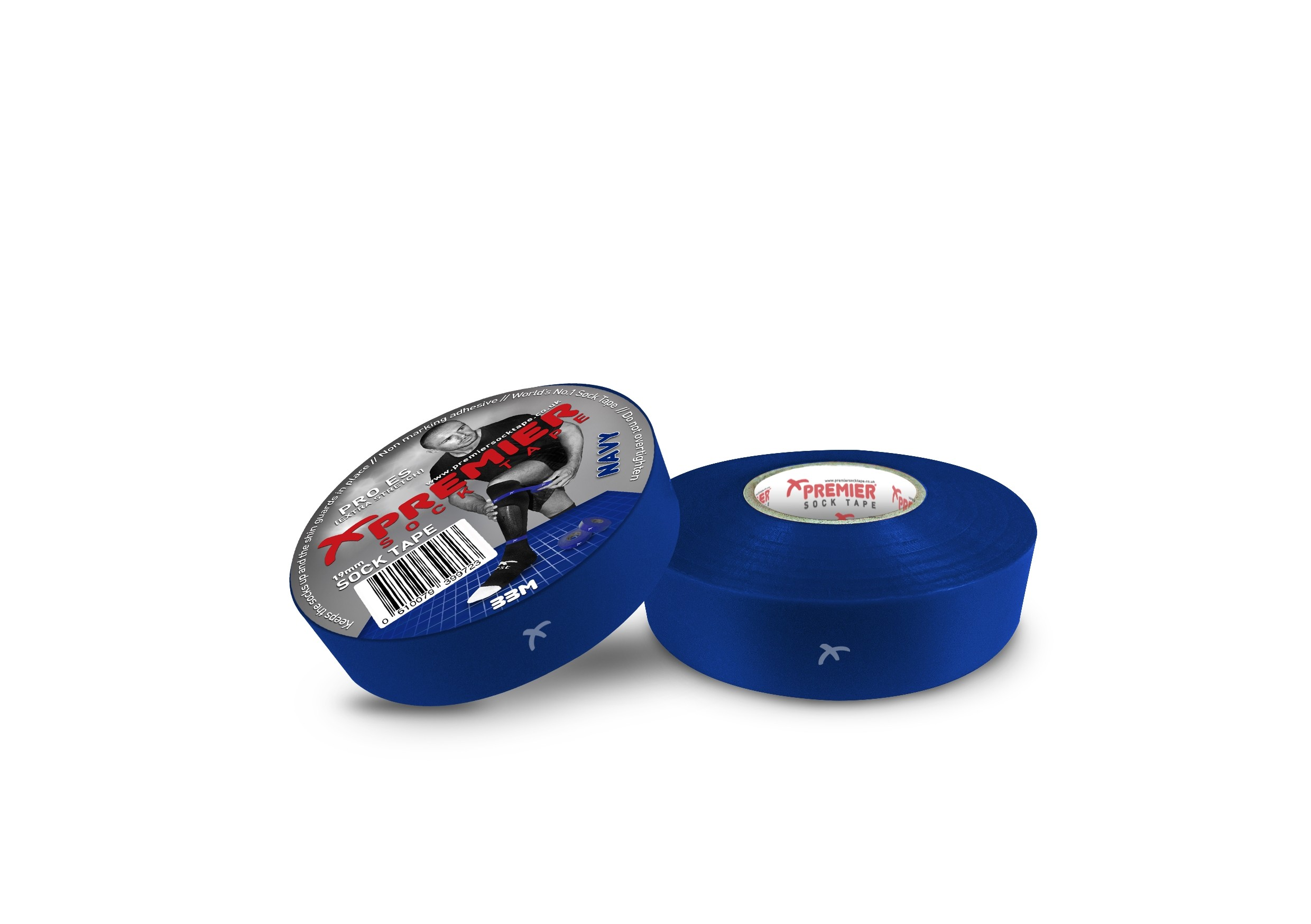 Premier Sock Tape 19mm-Navy