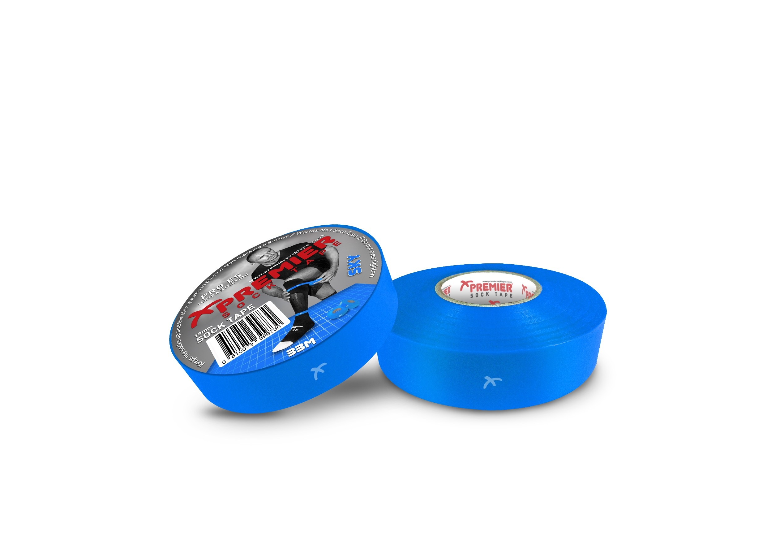 Premier Sock Tape 19mm-Sky Blue