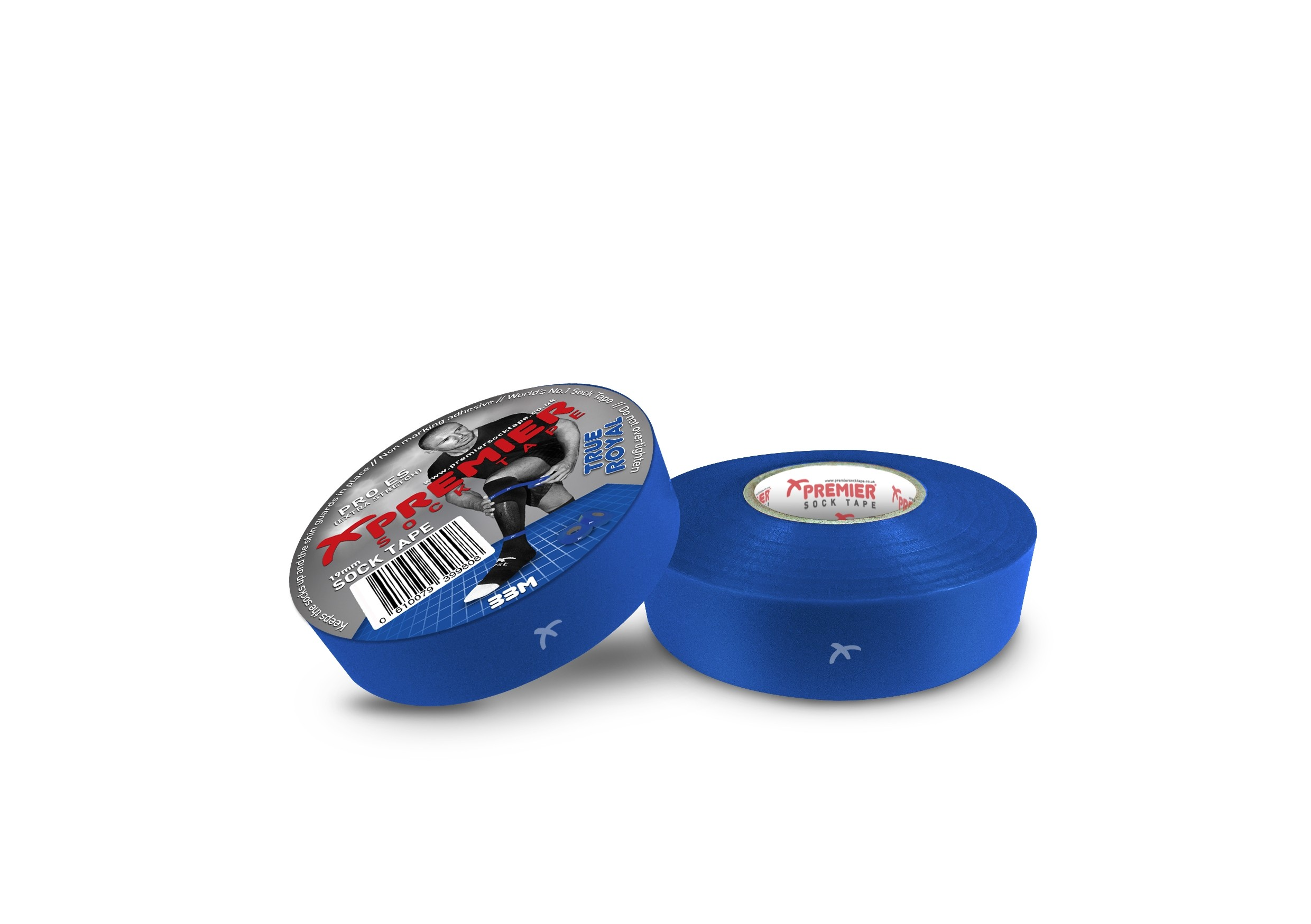 Premier Sock Tape 19mm-True Royal