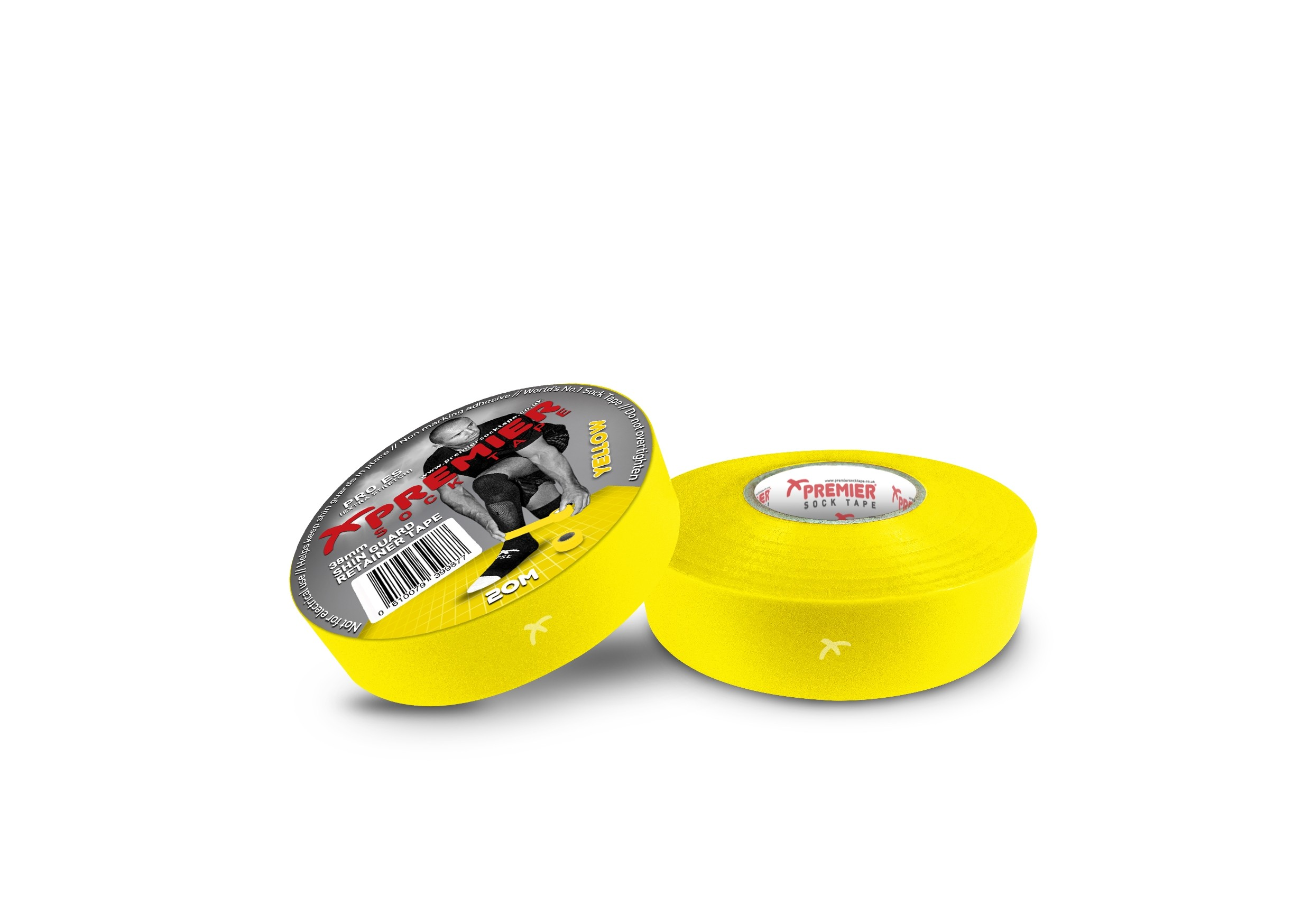 Premier Sock Tape 19mm-Yellow