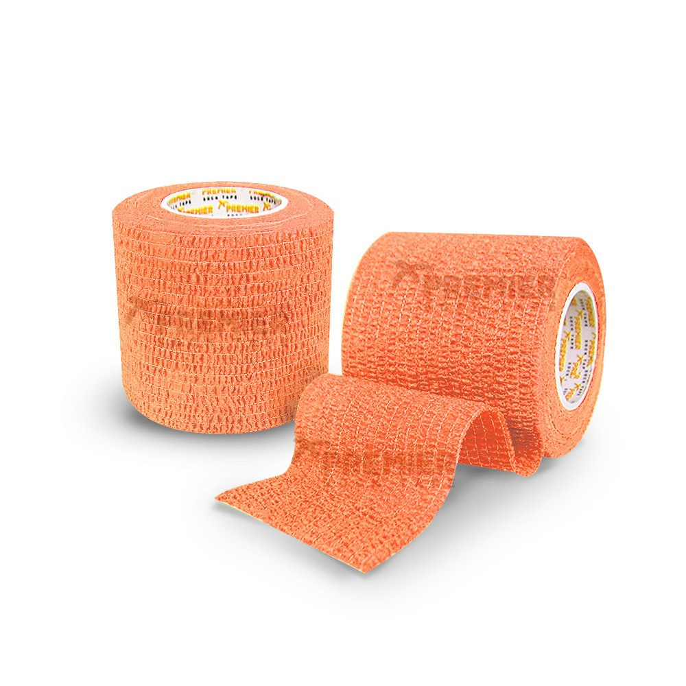 Premier Sock Tape Pro-Wrap 5.0cm x 4.5m-Orange