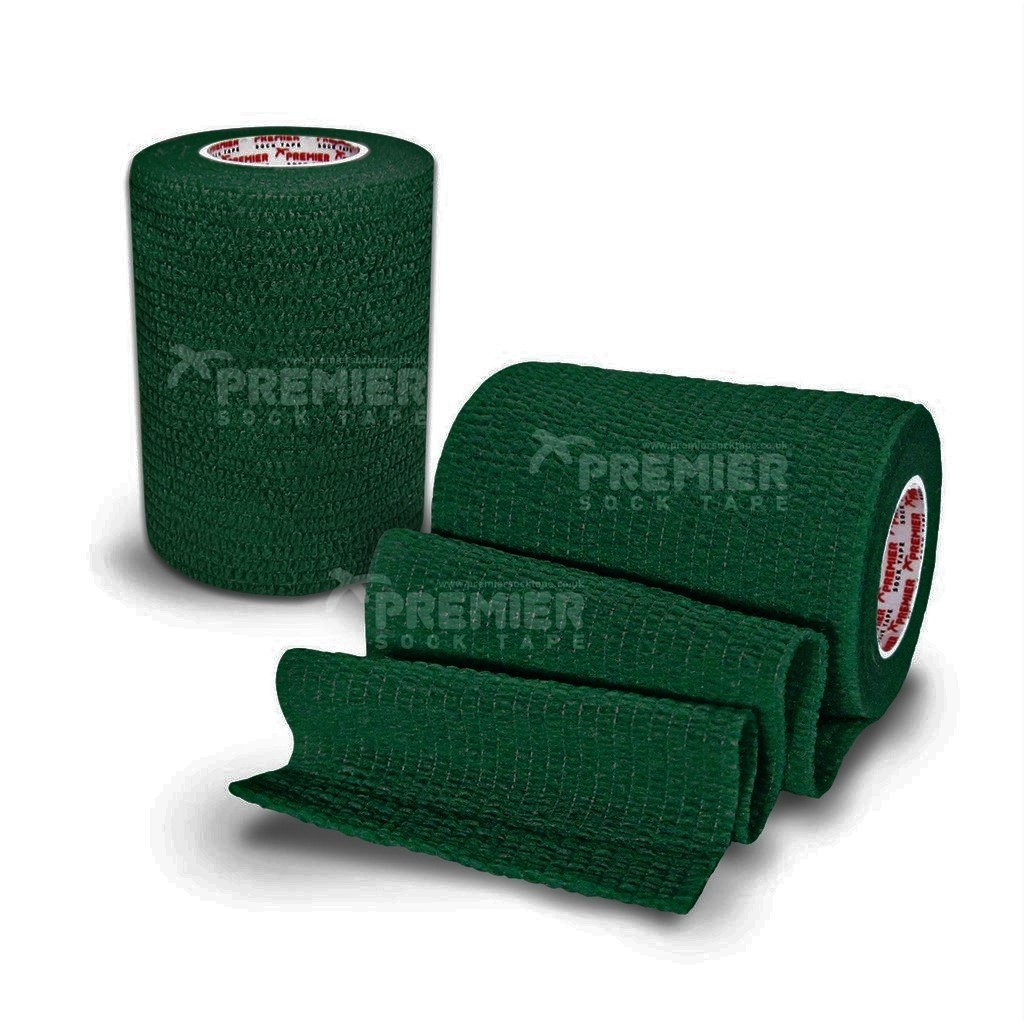Premier Sock Tape Pro-Wrap 7.5cm - Forest Green