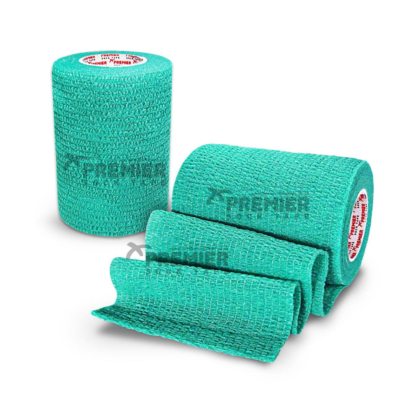 Premier Sock Tape Pro-Wrap 7.5cm - Turquoise Green