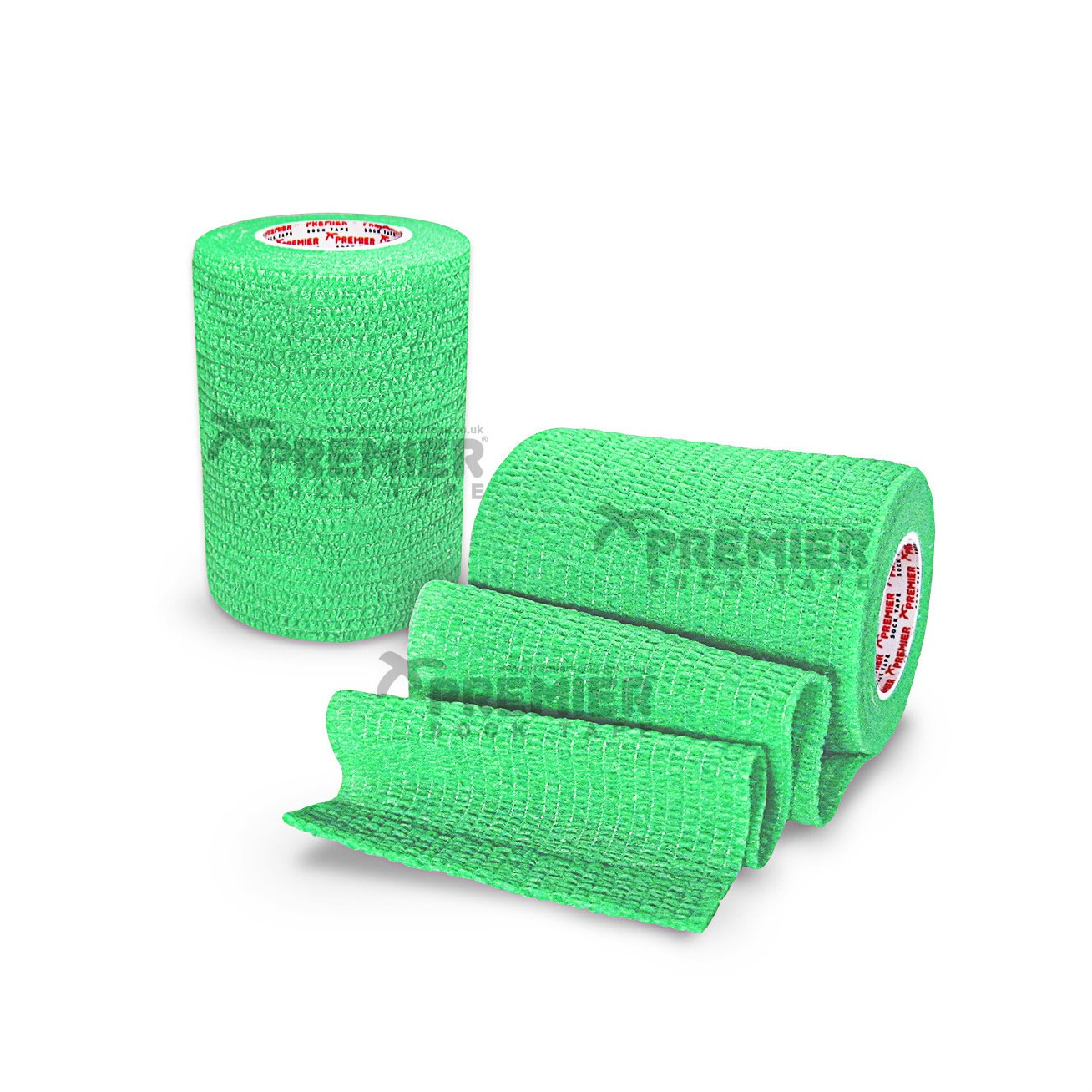 Premier Sock Tape Pro-Wrap 7.5cm - Lime Green