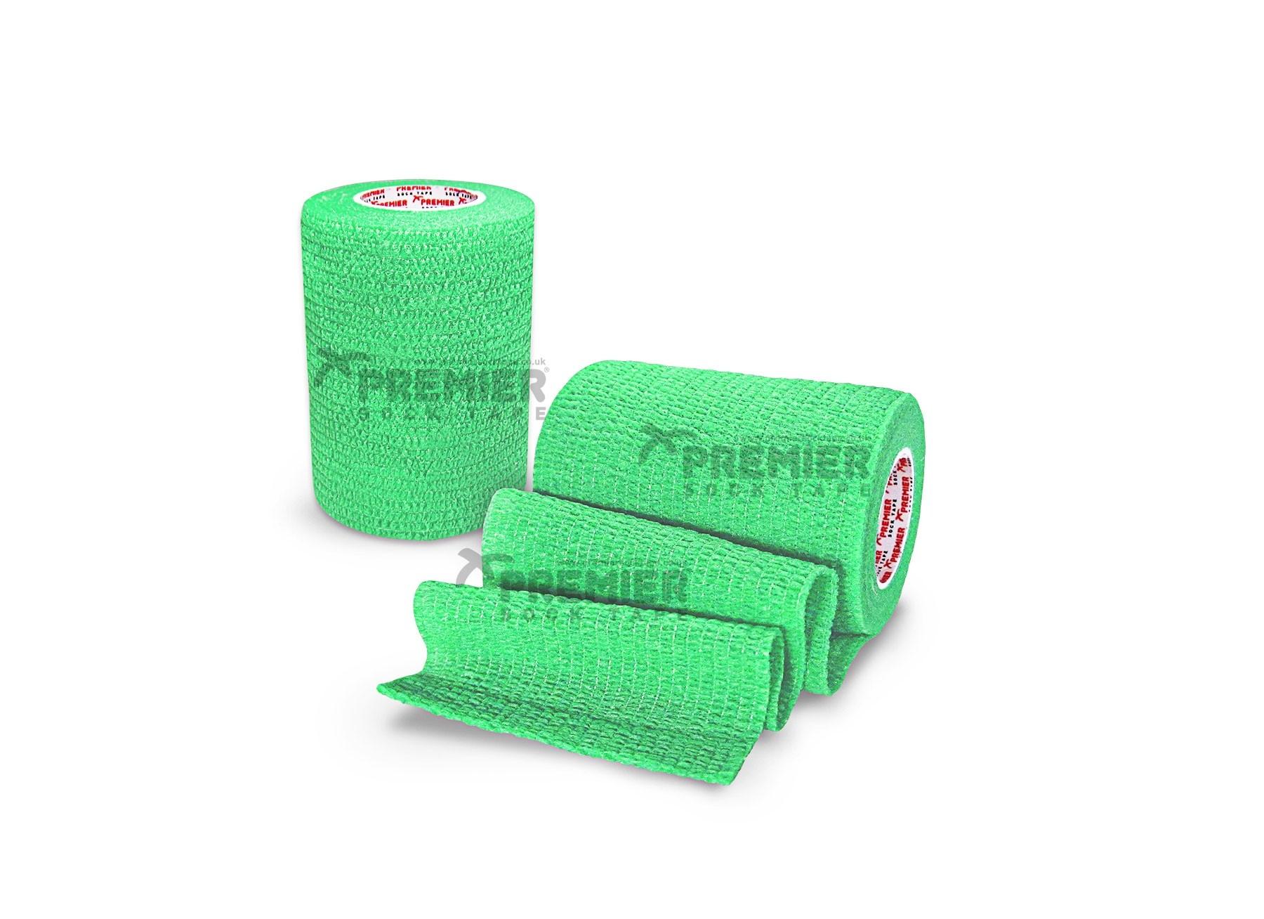 Premier Sock Tape Pro-Wrap 5.0cm-Lime Green