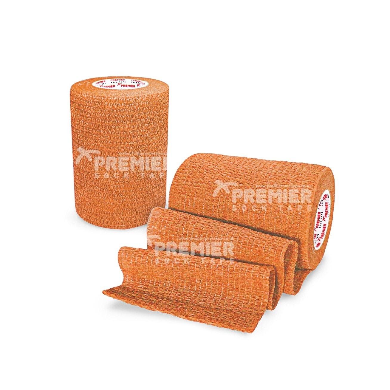 Premier Sock Tape Pro-Wrap 7.5cm - Orange