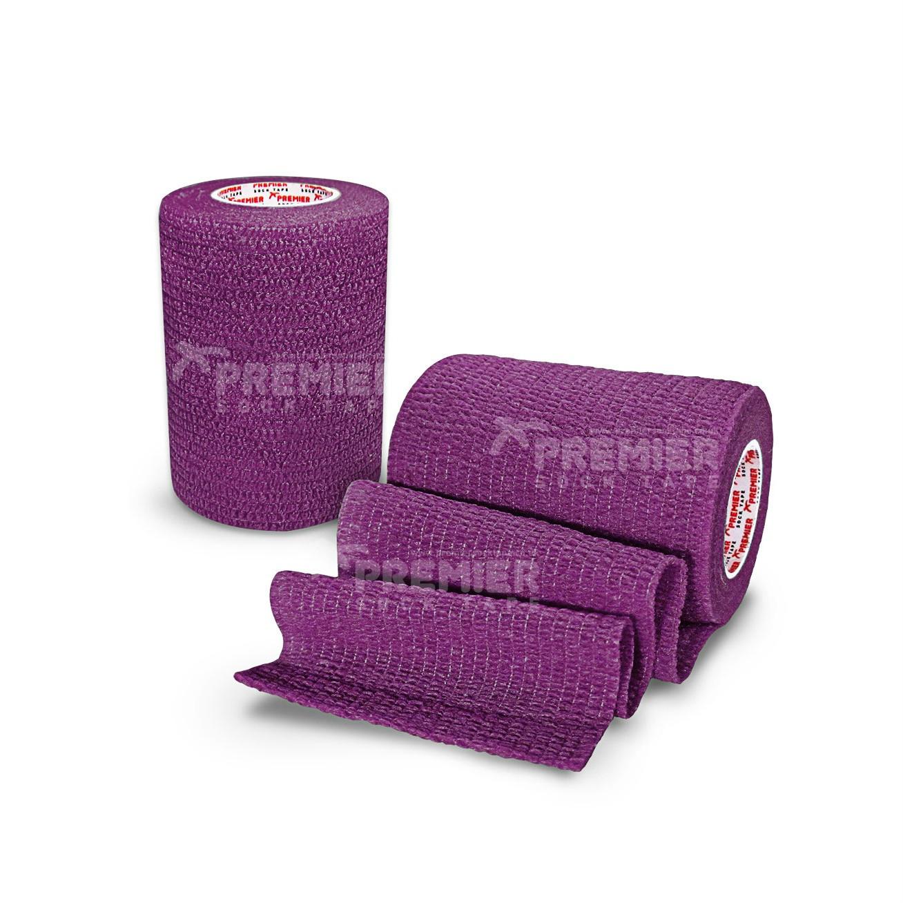 Premier Sock Tape Pro-Wrap 7.5cm - Purple