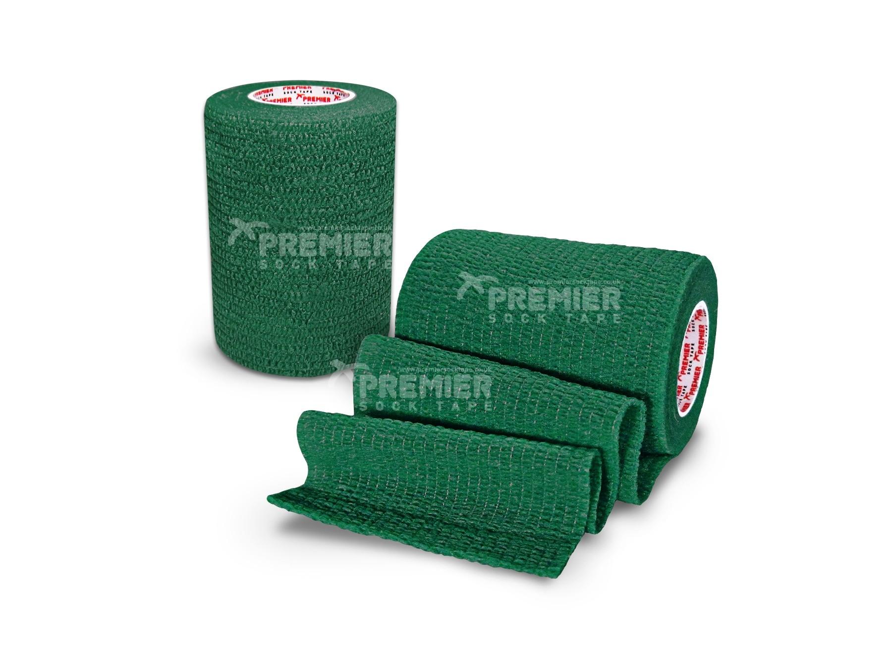Premier Sock Tape Pro-Wrap 7.5cm - Green