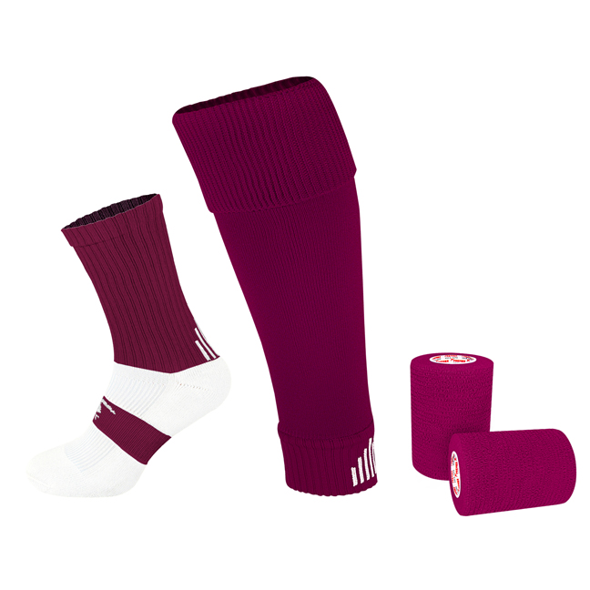 PST Sock Taping Kit - Maroon