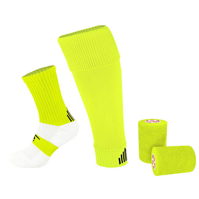 PST Sock Taping Kit - Neon Yellow