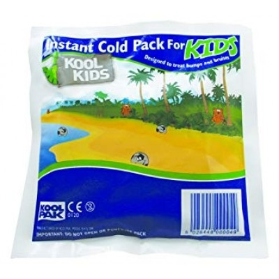 Koolpak Kids Instant Cold Pack - 15 x 15cm - 120gm