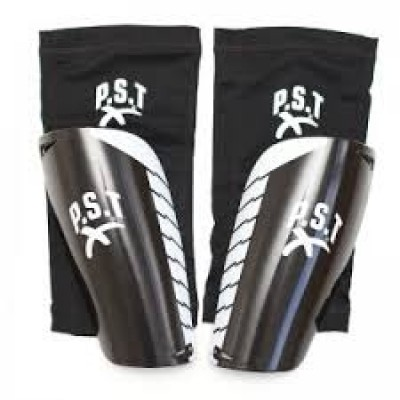 Pro Lite Agility Shin Guard With Sleeve - Black