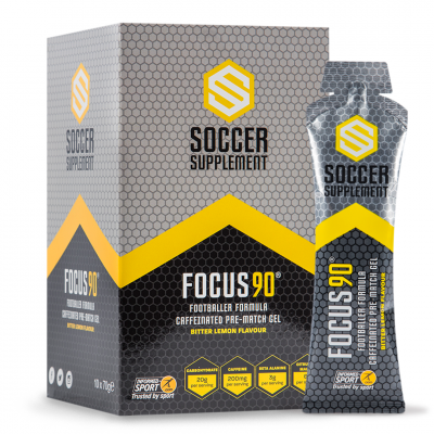 Soccer Supplement - Focus 90 Gel (10 Pack)