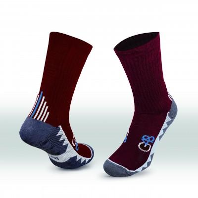 G48 Grip Socks - Maroon