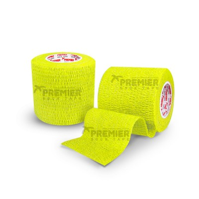 Premier Sock Tape Pro-Wrap 5.0cm - Neon Yellow