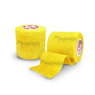 Premier Sock Tape Pro-Wrap 5.0cm - Yellow