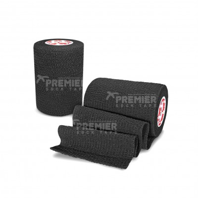 Premier Sock Tape Pro-Wrap 7.5cm - Black