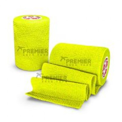 Premier Sock Tape Pro-Wrap 7.5cm - Neon Yellow