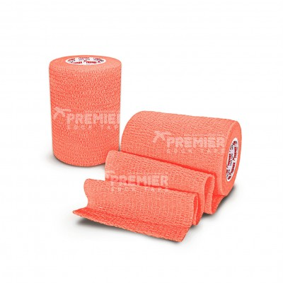 Premier Sock Tape Pro-Wrap 7.5cm - Neon Orange