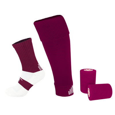 PST Sock Taping Kit - Maroon