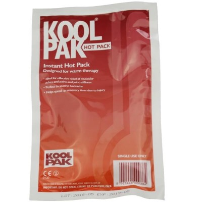 Koolpak Instant Hot Pack 15 x 23cm